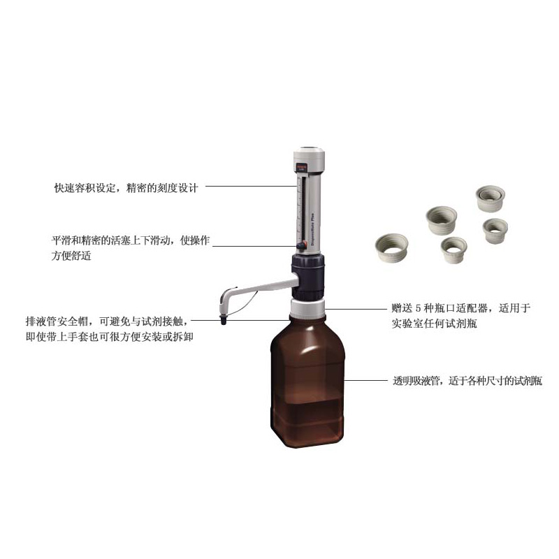 大龙仪器DispensMate Plus 瓶口分液器